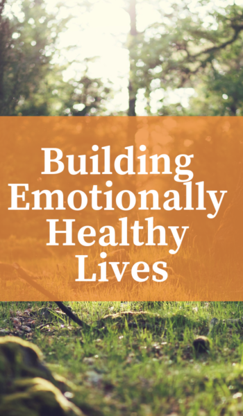 Building Emotionally Healthy Lives